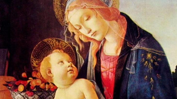 Agorà maggio, madonna e bambino